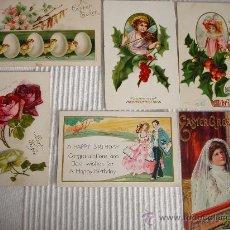 Postales: SEIS POSTALES ANTIGUAS COMIENZOS DEL S.XX.. Lote 9190363