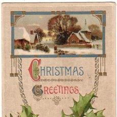 Postales: POSTAL MODERNISTA CIRCULADA EN 1915.. Lote 9190482