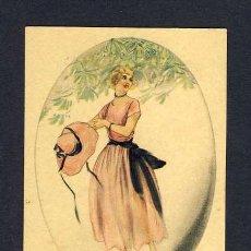 Postales: POSTAL ILUSTRADA: MUJER ART DECO (ED.ULTRA NUM.2118, IMPRESA EN ITALIA). Lote 9371344