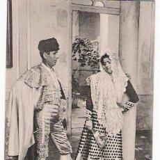 Postales: COSTUMBRES ANDALUZAS. ANTES DE LA CORRIDA. STENGEL & CO. ANTERIOR A 1906. NO CIRCULADA. Lote 14535152