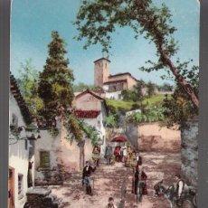 Postales: COSTUMBRES ANDALUZAS. LA MAJESTAD. COL. TOMÁS SANZ Nº 51. FRANQUEADA Y FECHADA EN 1910. Lote 14763425