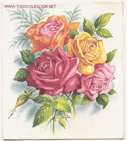 Resultado de imagen de postales de flores preciosa