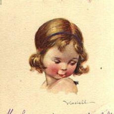 Postales: DIBUJO NIÑA . Lote 1725