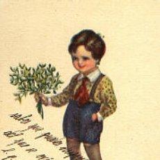 Postales: NIÑO CON FLORES . Lote 1732