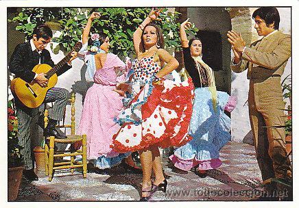 BAILE ANDALUZ (Postales - Postales Temáticas - Estilo)