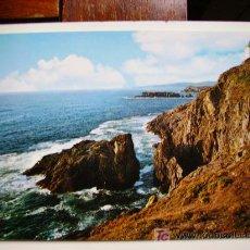 Postales: GALICIA, DETALLE DE LA COSTA. Lote 11124358