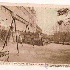 Postales: ANTIGUA POSTAL Nº 17 ALMACENES JORBA EL JARDIN DE LOS NIÑOS COLECCION ZOOLOGICA HUECOGRABADO. Lote 11226981