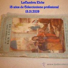 Postales: ANTIGUO LIBRETO DEL EVANGELIO SEGÚN LUCAS, S.LUCAS 2.46, Nº 63.. Lote 11552624