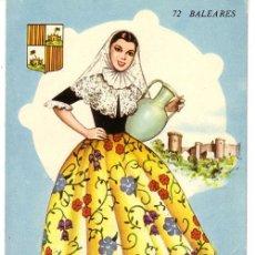Postales: Nº 2521 BALEARES TRAJE TIPICO. Lote 11880136