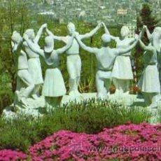Cartes Postales: BARCELONA - MONUMENTO A LA SARDANA Y VISTA PARCIAL. Lote 11884327