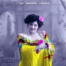 Postales: POSTAL DE CANZONETISTA SRTª SANCHEZ JIMENEZ. Lote 12907620