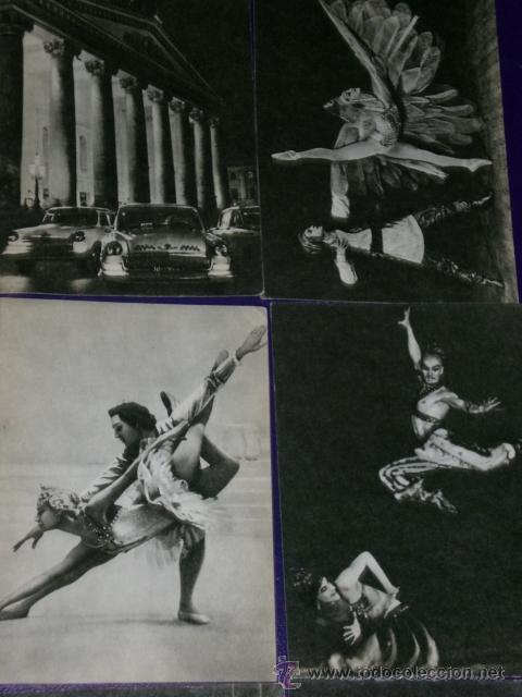Postales: Conjunto de 30 postales rusas de personajes rusos de la danza.(1970) - Foto 4 - 16026325
