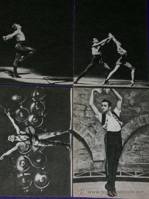 Postales: Conjunto de 30 postales rusas de personajes rusos de la danza.(1970) - Foto 7 - 16026325