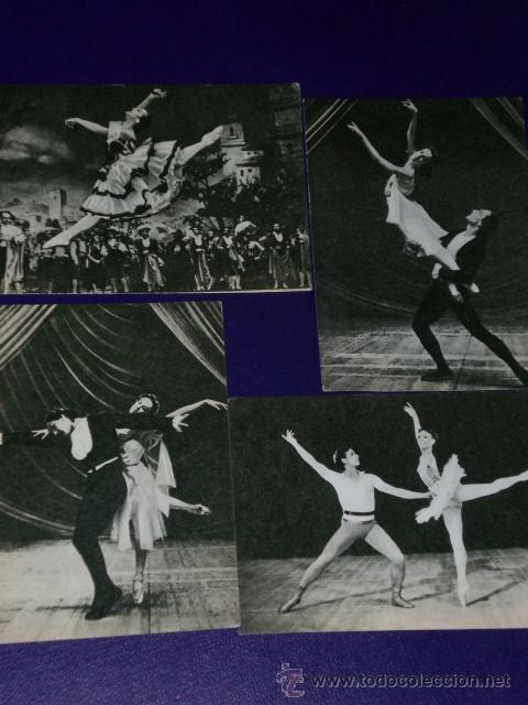 Postales: Conjunto de 30 postales rusas de personajes rusos de la danza.(1970) - Foto 8 - 16026325