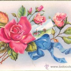 Postales: POST 297 - POSTAL CIRCULADA DE FLORES. Lote 14262349