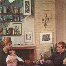 Postales: POSTAL DE 1962 (IMAGEN FAMILIA FELIZ). Lote 14330142