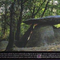 Postales: POSTAL - DOLMEN DE DOMBATE - RIBEIRA - ESTRELLA GALICIA. Lote 14585059