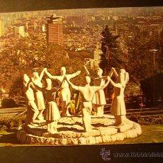 Postales: 740 ESPAÑA CATALUÑA BARCELONA MONUMENTO A LA SARDANA AÑOS 70/80 - MIRA MIS OTROS ARTÍCULOS. Lote 16089988
