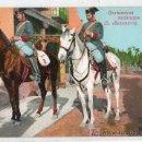 Postales: TARJETA POSTAL DE COSTUMBRES ANDALUZAS. LA BENEMERITA. PURGER Y CO. MUNCHEN. REVERSO NO DIVIDIDO.. Lote 22428065