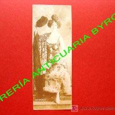 Postales: SAHARET. BAILARINA Y ACTRIZ AUSTRALIANA. FECHADA EN 1907. MEDIDAS, 16 X 6 CM. Lote 18753225