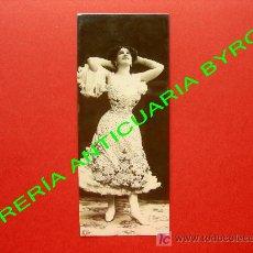 Postales: TARJETA POSTAL ANTIGUA. ORANOTYPIE. A. G. STEGLITZ. BERLIN 1904. 17 X 7 CM. Lote 18753433