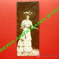 Postales: TARJETA POSTAL ANTIGUA. ORANOTYPIE. A. G. STEGLITZ. BERLIN 1904. 17 X 7 CM. Lote 18753459