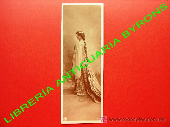 TARJETA POSTAL ANTIGUA. ORANOTYPIE. A. G. STEGLITZ. BERLIN 1904. 20,5 X 7,5 CM (Postales - Postales Temáticas - Estilo)