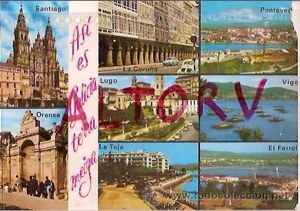 POSTAL A COLOR 933 GALICIA EDICIONES ARRIBAS (Postales - Postales Temáticas - Estilo)