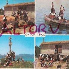 Postales: POSTAL A COLOR Nº 3642 GALICIA TIPICA POSTAL FAMA. Lote 21382507