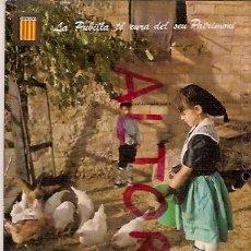 Postales: POSTAL A COLOR Nº 3952 CATALUNYA TIPICA ESCRITA ESCUDO DE ORO. Lote 21706224