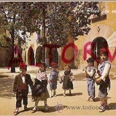 Postales: POSTAL A COLOR Nº 9 CATALUNYA TIPICA ESCUDO DE ORO. Lote 21728022