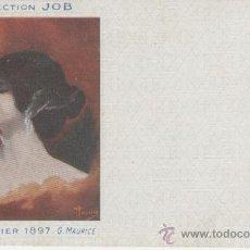 Postales: COLLECTION JOB. PUBLICIDAD. ILUSTRACIÓN DE G. MAURICE. AÑO 1897.. Lote 27416350