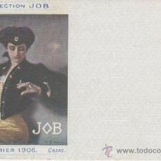 Postales: COLLECTION JOB. PUBLICIDAD. ILUSTRACIÓN DE CASAS. AÑO 1906.. Lote 27416351