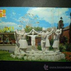 Postales: 7640 ESPAÑA SPAIN CATALUÑA BARCELONA MONUMENTO A LA SARDANA AÑOS 60/70 CIRCULADA TENGO MAS POSTALES. Lote 23410757