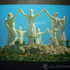 Postales: 7645 ESPAÑA SPAIN CATALUÑA BARCELONA MONUMENTO A LA SARDANA AÑOS 60/70 CIRCULADA TENGO MAS POSTALES. Lote 23410788