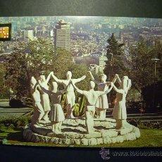 Postales: 7689 ESPAÑA SPAIN CATALUÑA BARCELONA MONUMENTO A LA SARDANA POSTCARD AÑOS 60/70 - TENGO MAS POSTALES. Lote 23427384