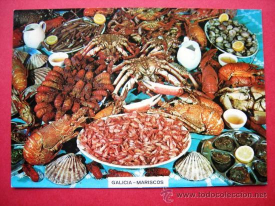 GALICIA - MARISCOS (Postales - Postales Temáticas - Estilo)