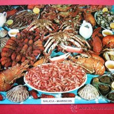 Postales: GALICIA - MARISCOS. Lote 23820006