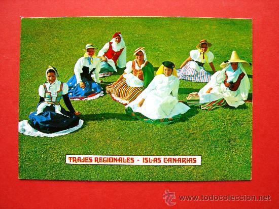 TRAJES REGIONALES - ISLAS CANARIAS (Postales - Postales Temáticas - Estilo)