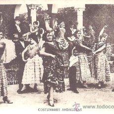 Postales: PS1255 BONITA POSTAL DE 'COSTUMBRES ANDALUZAS'. EDITORIAL GRAFOS. Lote 25945167