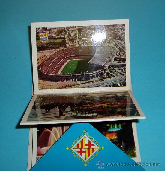 Postales: CARPETA - TIRA - ACORDEÓN 21 POSTALES BARCELOA 11 X 8 CM - Foto 2 - 27316666