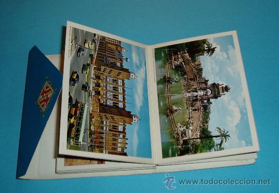 Postales: CARPETA - TIRA - ACORDEÓN 21 POSTALES BARCELOA 11 X 8 CM - Foto 3 - 27316666