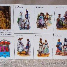 Postales: POSTAL, POSTAL CULTURAL, TRAJES REGIONALES TIPICOS DE CANARIAS, PROVINCIAS DE LAS PALMAS, EDICIONES. Lote 27783986