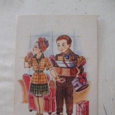 """Postales: POSTAL """"RUINA DE LOS PRETENDIENTES SON LAS NOVIAS EXIGENTES"""". Lote 28066478"""