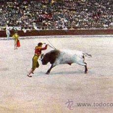 Postales: POSTAL CORRIDA DE TOROS BANDERILLAS . Lote 30979676