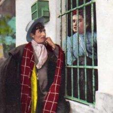 Postales: COSTUMBRES ANDALUZAS PELANDO LA PAVA COLECCIÓN TOMAS SANZ SEVILLA 45 SIN CIRCULAR . Lote 32495918