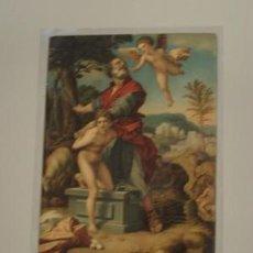 Postales: ABRAHAM'S OPFER - ANDREA DEL SARTO. Lote 32558998