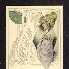 Postales: POSTAL MODERNISTA: MUJER (ED. MM VIENNE). Lote 32848180