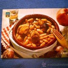 Postales: POSTAL IBERIA PLATOS TIPICOS Nº 5 FABADA ASTURIANA NO CIRCULADA. Lote 36177490