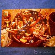 Postales: POSTAL IBERIA PLATOS TIPICOS Nº 8 ZARZUELA DE PESCADOS Y MARISCOS NO CIRCULADA. Lote 36177549